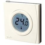 Danfoss Kambario termostatas Z-Wave technologija EU LCD ekranas dažnių diapozonas 868.4 MHz  reikalingos 2 AA baterijos | Nemokamas Pristatymas