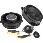 Ground Zero GZCS 100BMW-D 100W komponentinė 2-juostų garsiakalbių sistema automobiliui, nemokamas pristatymas