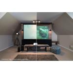Elite Screens Aeon - Starbright (Edge Free) projektoriaus ekranas  CLR - 223,7 x 124,9 - 16:9 | Nemokamas Pristatymas
