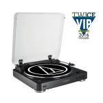 Audio-Technica AT-LP60BKBT automatinės belaidis plokštelių grotuvas >50 dB (DIN-B) 33-1/3 RPM, 45 RPM | Nemokamas Pristatymas