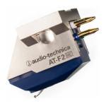 Audio-Technica AT-F2 Galvutės kartridžas plokštelų grotuvui ar patefonui, nemokamas pristatymas