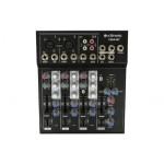 Pioneer CM4-BT Miškerinis Pultas su Bleutooth maitinimas 12Vac 1000mA mikrofono kanalas 2 x balancinis XLR/jack stereo 6.3mm jack/RCA (-8 to +15dB / +13 to +60 paralerinis) | Nemokamas Pristatymas