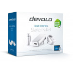 devolo Home Control Starter Rinkinys  viduje yra 3 pagrindiniai išmanijų namų komponentai | Nemokamas Pristatymas