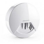 Devolvo Dūmų Detektorius Z-Wave technologija informavimo funkcija siunčia signalus į jūsų telefoną, sms arba el.paštą | Nemokamas Pristatymas