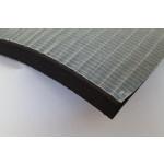 DUCT 19 garsą sugerianti medžiaga gumos pagrindu storis 19mm išmatavimai 500x100mm  nemokamas pristatymas užsakymui virš 30 Eur