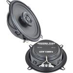Ground Zero Iridium GZIF 5201FX 13 cm 2 juostų koaksialiniai garsiakalbiai automobiliui kaina už 2 vnt. 100W