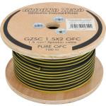 Ground Zero GZSC 2x1.5 OFC 2 x 1.50 mm² garsiakalbio laidas kabelis (Kaina už metrą) OFC - grynas bedeguonis varinis 3+3mm