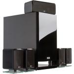 HECO Ambient 5.1A 5.1 garso sistema Priekinės kolonėlės 2 juostų, 50/100W Centrinė kolonėlė 2 juostų, 60/120W Aktyvi žemo dažnio kolonėlė: 60/120W | Nemokamas Pristatymas
