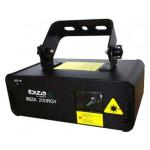 IBIZA LIGHT IBIZA200RGY LAZERIS DMX SU PULTELIU 13 DMX Kanalų AC220-240V, 50Hz/60Hz | Nemokamas Pristatymas