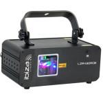 IBIZA LIGHT LZR430RGB LAZERIS DMX, RGB 430MW maitinimas AC100-240V, 50/60Hz galios suvartojimas 20W | Nemokamas Pristatymas