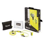 Monster iSport Intensity ausinės sportinės įstatomos į ausies kanalą atsparios drėgmei su mikrofonu