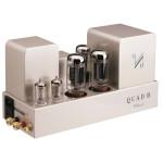 QUAD II-Classic galios stiprintuvas 2 x 15W A klasės stereo galios stiprintuvas (monoblokai) Lempos: 2 x KT66, 2 x EF86, 1 x GZ34 | Nemokamas Pristatymas