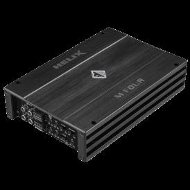 Helix M FOUR stiprintuvas RMS galia 2 x 200 / 400W dažnių juosta 10 Hz - 30,000 Hz D-klasė RCA jungtis ADEP ir SMD funkcija | Nemokamas Pristatymas