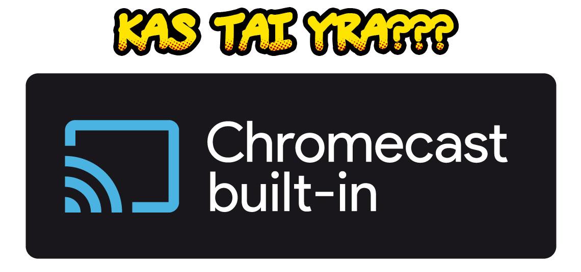 Kas tai yra Google #Chromecast? Arba kelios priežastys pamilti #Chromecast ir #CambridgeAudio!