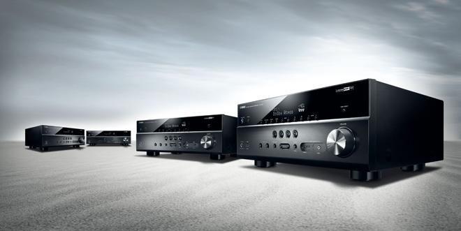 Pristatyti YAMAHA MUSICCAST RX-V583, RX-V583 ir RX-V683 nauji namų kino stiprintuvai resyveriai